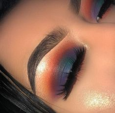 Super Hair Ideas Everyday Makeup Looks Ideas - my most beautiful makeup list Pretty Makeup, Love Makeup, Makeup Inspo, Makeup Art, Makeup Inspiration, Beauty Makeup, Glam Makeup, Sleek Makeup, Pretty Nails
