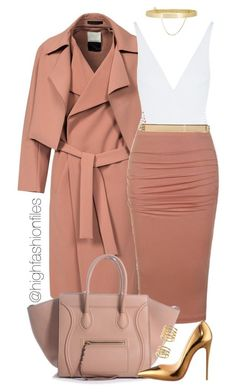 """Killing Time"" by highfashionfiles ❤ liked on Polyvore featuring By Malene Birger, Eres, Ally Fashion, MICHAEL Michael Kors, Eddie Borgo, Christian Louboutin and Elizabeth and James"