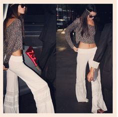 Kendall Jenner....love this laid back beachy look