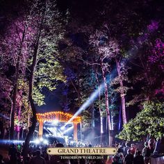 """""""Discover the #TomorrowWorld 2015 stage and Prepare for a magical adventure 8th is Grand Theatre stage #Tomorrowland #edm #edmfamily #ravefamily…"""""""