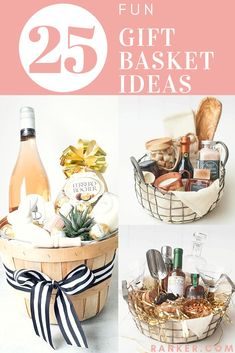 Great ideas for gift baskets! Gift baskets are a perfect, easy throw-together gi. Great ideas for gift baskets! Gift baskets are a perfect, easy throw-together gi. Great ideas for gift baskets! Gift baskets are a perfect, easy thr. Best Gift Baskets, Gift Baskets For Women, Themed Gift Baskets, Wine Gift Baskets, Basket Gift, Raffle Baskets, Gift Ideas For Women, Best Gift For Women, Gift Basket Themes