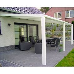 Pergola Attached To House Roof Refferal: 7412518470 Pergola On The Roof, White Pergola, Wood Pergola, Pergola Attached To House, Pergola Swing, Cheap Pergola, Backyard Pergola, Pergola Shade, Pergola Plans