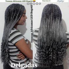 #trenzasafricanasledbogota @trenzasafricanasledbogota #trenzas_africanas_led @trenzas_africanas_led #trenzasafricanasenbogota @trenzasafricanasenbogota @trenzasafricanassoacha #trenzasafricanassoacha @trenzasafricanascundinamarca #trenzasafricanascundinamarca Led, Dreadlocks, Hair Styles, Beauty, Grey Box Braids, Tree Braids, Silver, White People, African Braids