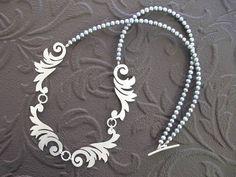 Hannah Louise Lamb - multi scroll necklace