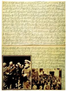 "Adolf Wölfli. ""Funeral March"" 1928-1930. 16 unnumbered Books."