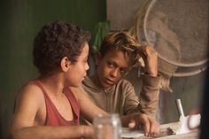 """""""Trash"""" is literally where this British-Brazilian thriller, set in the slums of Rio, starts out; it is also how its three protagonists, street kids who spend their days picking through mountains of..."""