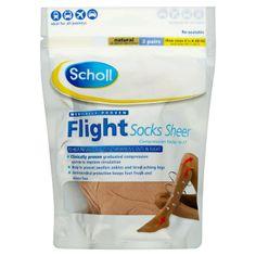Scholl Flight Socks