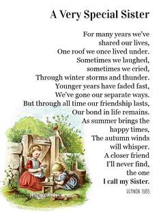 Separate Ways, Our Friendship, All About Time, Winter Storm, Animals For Kids, Sisters, Our Life, Love My Family, Bond