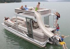 Cool pontoon boat