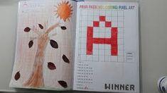 Risultato immagini per coding nella scuola primaria schede pixel art Pixel Art, Diagram, Coding, Color, Design, Colour, Programming, Colors