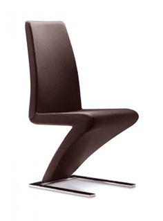 Modrest Zayd Modern Espresso Dining Chair