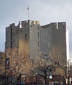 The Denver Art Museum's North Building, designed by Gio Ponti.