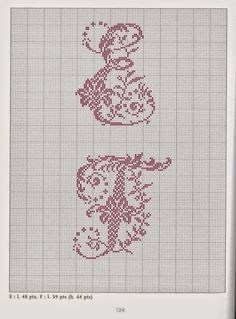 La più grande raccolta di schemi e ricami al punto croce gratuiti in grande formato, stampabili. Cross Stitch Alphabet Patterns, Cross Stitch Geometric, Embroidery Alphabet, Cross Stitch Letters, Cross Stitch Love, Cross Stitch Charts, Stitch Patterns, Quilt Stitching, Cross Stitching