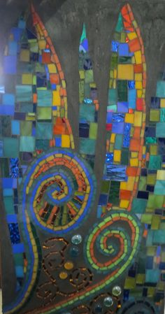 mosaic , by kat gottke  called 'playing with movement