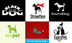 40 Beautiful and Creative Dog logo designs for your inspiration - http://www.playmagazine.info/40-beautiful-creative-dog-logo-designs-inspiration/