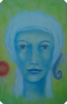 spiritual portrait,, a guide for a client