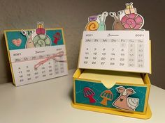 Advent Calenders, Calendar Ideas, Card Tutorials, Snail Mail, Catalogue, Juni, Stampin Up Cards, Bookmarks, Card Ideas