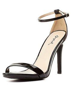 1186b5758b2 Grammy Heel - Black – Zelle Boutique Black Strap Heels