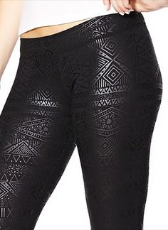 Printed Legging - Leggings - Garage