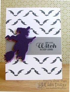 Lil' Inker Designs- The Store Blog Bats & Broomsticks Stamp Set & Die