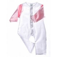 Organic Cotton Baby Romper Long Sleeved (Pink/White), (baby clothes), via myamzn.heroku.com... health-personal-care