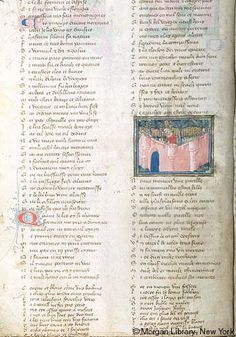 Roman de la Rose, MS G.32 fol. 4v - Images from Medieval and Renaissance Manuscripts - The Morgan Library & Museum