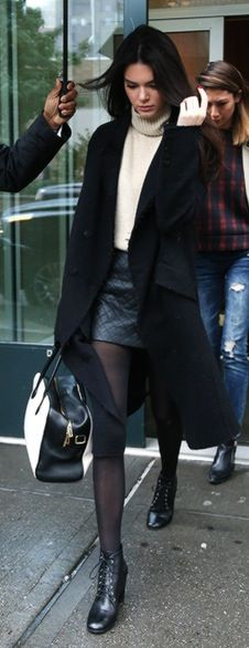 Kendall Jenner #streetstyle #fall