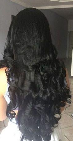Black hair extensions!!!