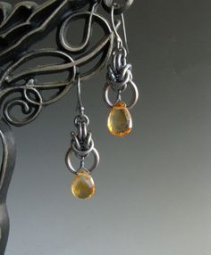 HOOP EARRINGS WITH CHAINMAIL - Google Search