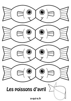 Discover recipes, home ideas, style inspiration and other ideas to try. Sea Crafts, Fish Crafts, Paper Crafts, Art For Kids, Crafts For Kids, Arts And Crafts, Diy Embroidery, Embroidery Patterns, Printable Crafts