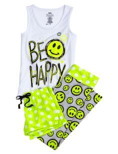 Smileys Face, Pajamas Sets, Pajamas Online, Buy Girls, Piece Pajamas, Pjs, Girls Pajamas, Justice Clothing, Girls Sleepwear