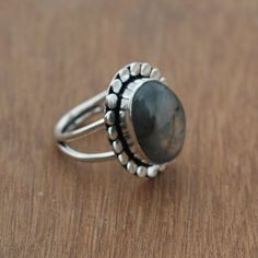 Items similar to Labradorite Ring Rock Rings, Labradorite Ring, Silver Rings Handmade, Rings For Her, Statement Rings, Fashion Rings, Valentine Day Gifts, Natural Gemstones, 925 Silver