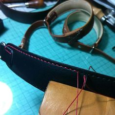 """35 Likes, 1 Comments - Photographer & Craftsman (@snapu) on Instagram: """"Making sample of my camera wrist strap.  4 color  will ready to order in this week. #kameracraft…"""""""
