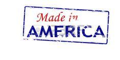 Sello de goma con el texto hecho en América interior, ilustración vectorial