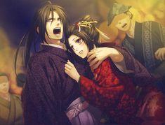 Hijikata y Chizuru the OVA about this is halarious