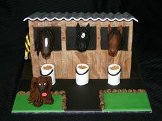 horse stables | Horse stables cake | Flickr - Photo Sharing!