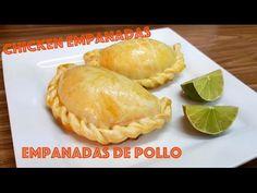 RECIPE: PERUVIAN CHICKEN EMPANADAS/ EMPANADAS DE POLLO - CON TECNICA DE BOLSA (EXCELENTE!) - YouTube