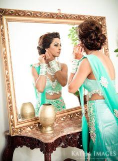 long hair updo #reception #indian #shaadi #wedding #southasian #shaadi #belles | courtesy Katha Images | for more inspiration visit www.shaadibelles.com