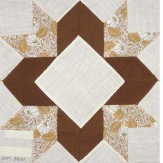 Arrowhead Star quilt block