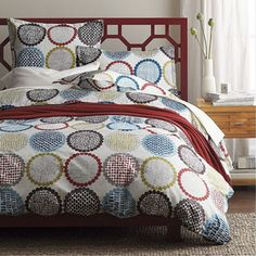 LoftHome By The Company Store® Shifting Gears Duvet Cover / Sham