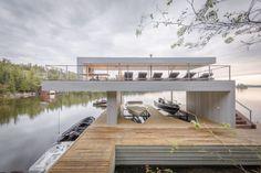 Boat House / Cibinel Architecture