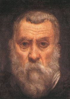TINTORETTO, Jacopo Robusti - Self portrait d 1