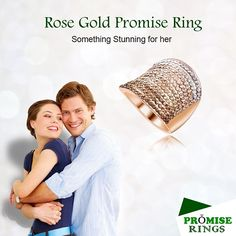 If you are looking to buy rose gold promise ring for your girlfriend, then you have come to the right place. Rose gold is a favorite this season and women are buying everything in this hue. Princess Promise Rings, Rose Gold Promise Ring, Promise Rings For Couples, Rings For Men, Christmas Jewelry, Christmas Fun, Wire Jewelry, Jewelry Gifts, Jewelry Quotes