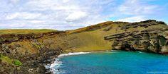 Green sand beach (Papakōlea)   Beaches   Big Island