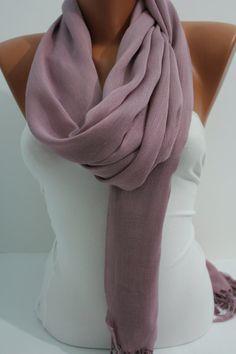 Women Elegant Shawl/Scarf by DIDUCI on Etsy, $22.00