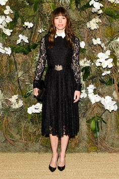 At Ralph Lauren, Jessica Biel Muses on Americana and Mom-Friendly Dressing.
