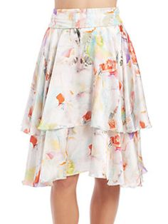 Shan - SerenaConvertible Silk Skirt