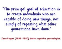 Piaget so got it right.
