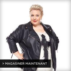 Dans ce look Glamour gothique composé d'un pantalon en similicuir et d'un blouson de moto clouté, Sonia exprime son côté rebelle.