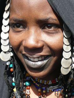 Africa |  Fulani/Peul woman.  Mali | © Rurukina